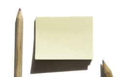 Post-it. Isolated For memo and other royalty free stock photo