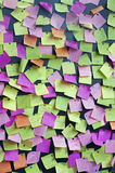 Post-It Stockfoto