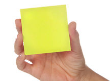 Post-it Stock Afbeeldingen