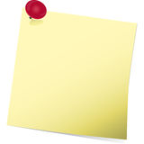 Post it Stock Photo