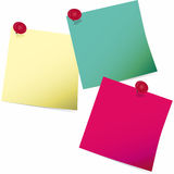 Post-it Imagem de Stock
