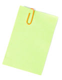 Post-it Foto de Stock
