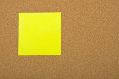 Post-it Foto de Stock Royalty Free
