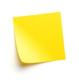 Post-it Fotografie Stock