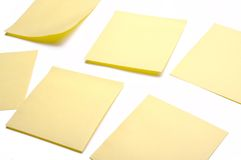 Post-it 4 Fotografia Stock