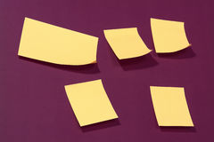 Post-it. Reminder stock photo