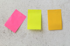 Post-it Photographie stock libre de droits