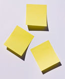 Post-it Fotos de Stock Royalty Free