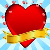 Post aan de dag van heilige Valentin vector illustratie