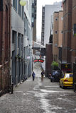 Post Alley at Pikes Place, Seattle, Washington Royalty Free Stock Photos