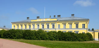Post And Customs House In Eckero, Aland, Finland Stock Images