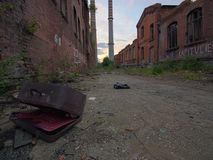 Post-apocalyptic city stock images