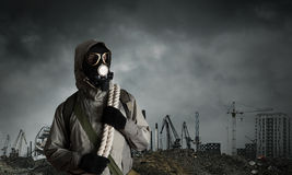 Post apocalyptic future Stock Photography