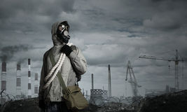 Post apocalyptic future Royalty Free Stock Images