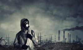 Post apocalyptic future Stock Photo