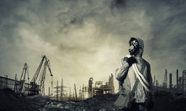 Post apocalyptic future Stock Images