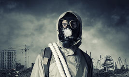 Post apocalyptic future Royalty Free Stock Photography