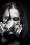 Post apocalyptic girl Royalty Free Stock Photography
