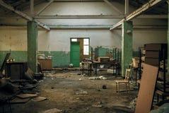 Post-apocalyptic interior Stock Image
