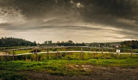 Post-apocalyptic landscape Stock Photo