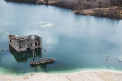 Post-apocalyptic ruins Royalty Free Stock Photos