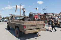 Post-apocalyptic survival truck Stock Images