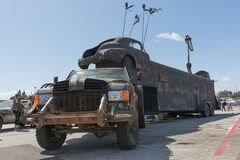 Post-apocalyptic survival truck Royalty Free Stock Photos