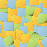 Post It background Stock Photos