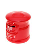 Post bank style money box Stock Image