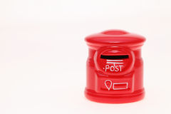 Post bank style money box Royalty Free Stock Photography