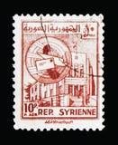 Post bei Hama, schickt serie 1954, circa 1954 per Luftpost stockbilder