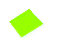 Post-it in bianco Fotografie Stock