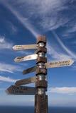 Post bij Kaap van Goede Hoop Royalty-vrije Stock Foto