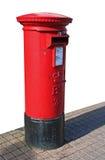 Post Box 1. British - Royal Mail - Post box Royalty Free Stock Images