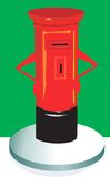 Post-box Royalty Free Stock Photo