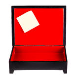 Post it box Stock Photos