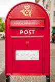 Post box in Denmark Royalty Free Stock Image