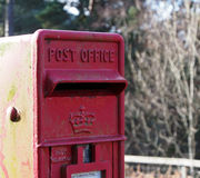 Post Box in Foyers Shores Stock Photos