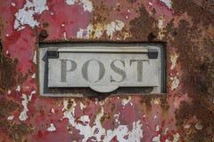 Post Box  Grunge Royalty Free Stock Photos