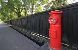 Post box in kakunodate Stock Photo