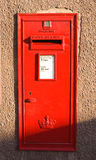Post box for letters. Stock Photo