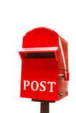 Post box or mail box Royalty Free Stock Photo
