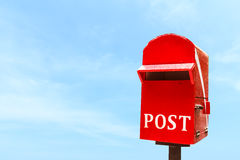 Post box or mail box Royalty Free Stock Photography