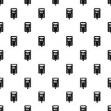 Post box pattern vector Royalty Free Stock Images