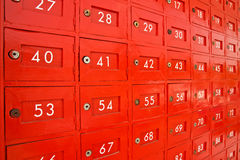 Post box for rent Royalty Free Stock Images