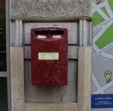 Post box Rome city Italy Royalty Free Stock Photography