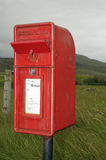 Post Box with Storm Flap Stock Photo