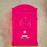 Post Boxe Royalty Free Stock Image