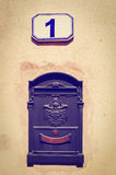 Post Boxe Royalty Free Stock Images