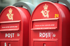 Post boxes Royalty Free Stock Photography